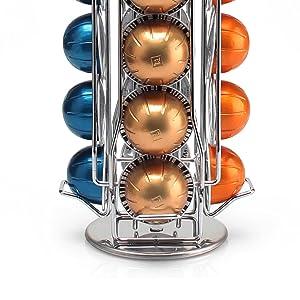 nespresso carousel rack holder