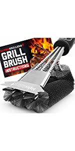 Alpha Grillers Grill Brush & Scraper