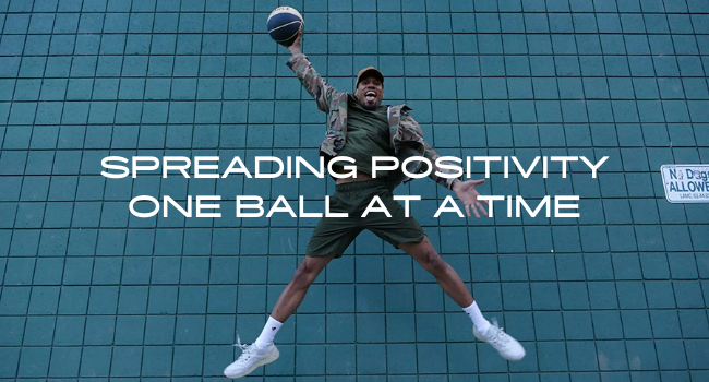 spreading positivity one ball at a time