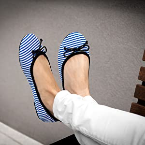 Catmotion Navy Stripes2