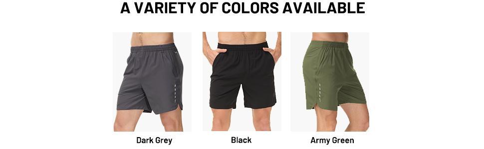 4 running shorts for men
