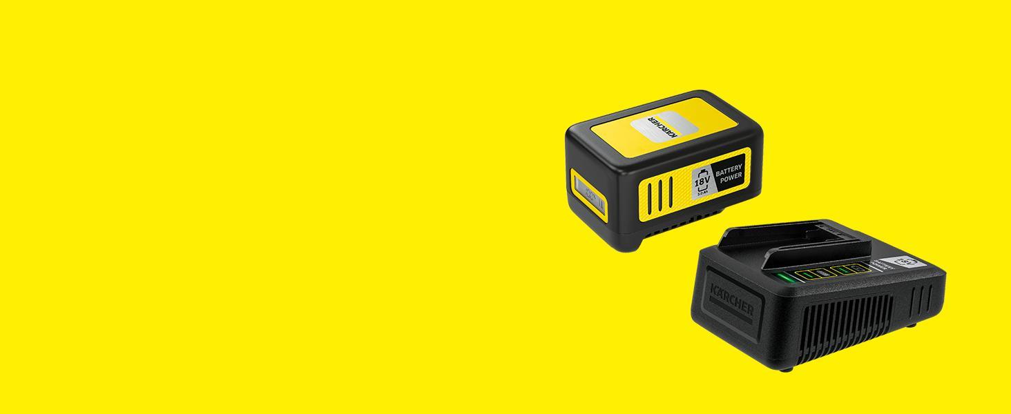 Kit básico: 18 V/5 Ah batería y cargador rápido
