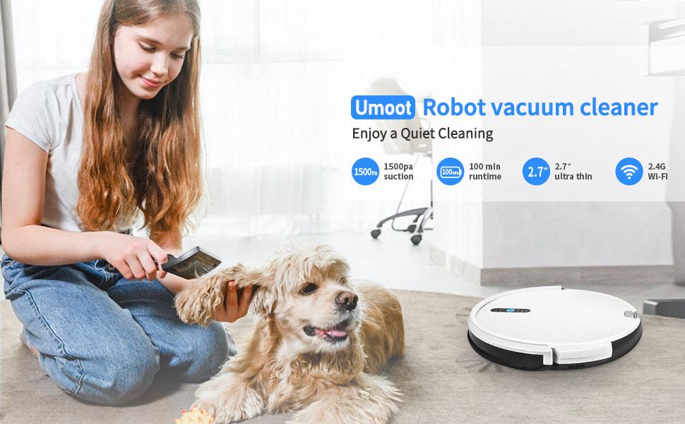 Umoot robot vacuum