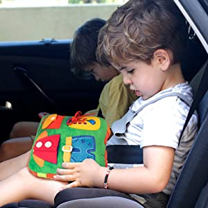 teytoy buckle pillow toy for kid