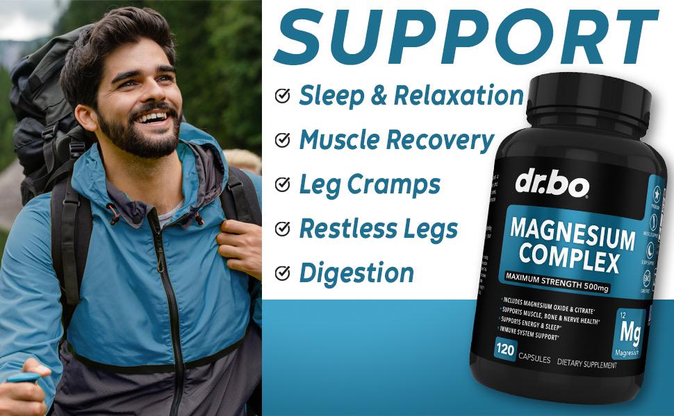premium magnesium oxide 500mg supplement support women blend magnizum constipation magnesio citrato