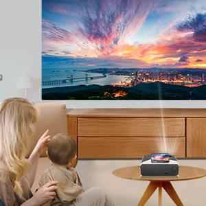 KECAG home theater projector