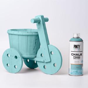 Pintyplus Chalk Finish Spray Paint Turquoise