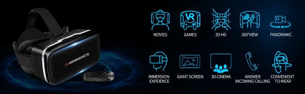 Newnaivete 3D Virtual Reality Headset