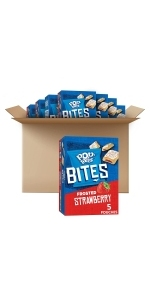 Pop-Tarts Bites, Frosted Strawberry, 7oz Box (5 Boxes)