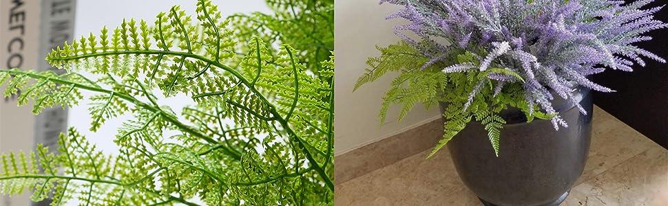 Lifelike outdoor plants