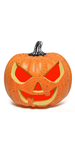 Pre-lit Halloween Pumpkin with Monster Sound