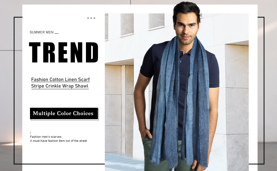 scarf for stylish men scarf holiday gift men