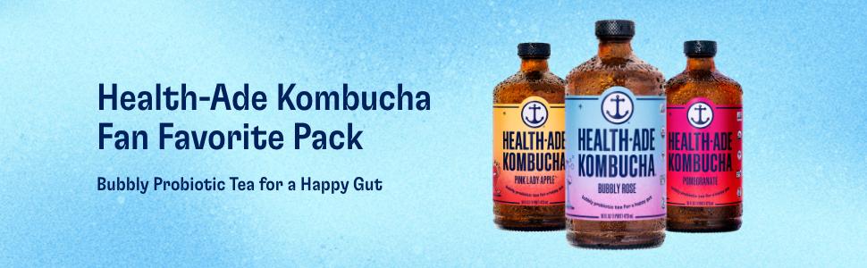 Health Ade Bubbly Rose Kombucha