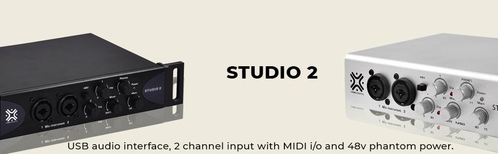 Studio 2 black and silver