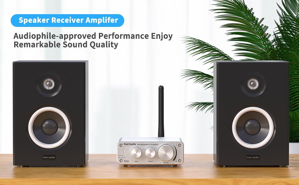 Bluetooth 5.0 Mini Hi-Fi Amplifier BT10A-S