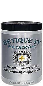 Retique It Polyacrylic Top Coat
