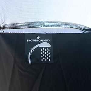 7020 shower opening