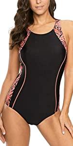 Women Sports One Piece Swimwear