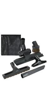 5 Pack vacuum attachments