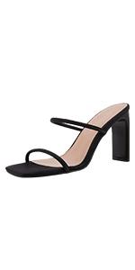 Women double strap sandals