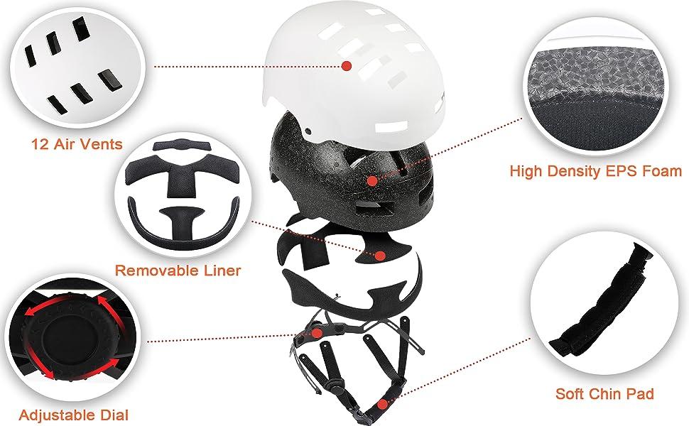 adult helmet bike helmet women skate helmet climbing helmet skateboard helmet bicycle helmet