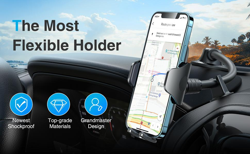 The Most Flexible Car Phone Holder