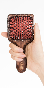 Porcupine Wooden Mini Brush