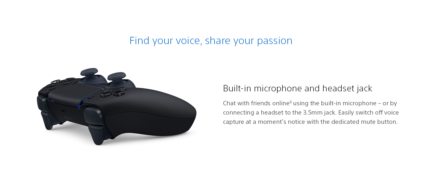 Find your voice, share your passion