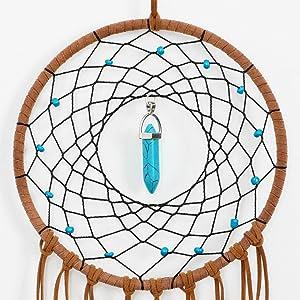 Roman gold decor Modern wall art Southern decor Folk art decor Scandinavian dream catcher Modern Garland Pendant  Indian Totem color blocks