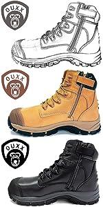 OUXX Work boots for men OX020 OX021 300X600 1