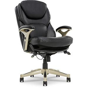 Three Quarter Seamless photo of Serta Executive Office Chair with Back-In-Motion Technology