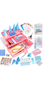 Pink Quilling Kits