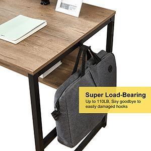 Computer Desk with Hutch Storage Shelves home office desks Laptop Table Work Study Gaming desktop