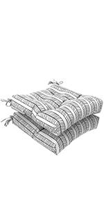 LVTXIII Outdoor Seat Cushions Square Tufted Chair Cushions, Patio Furniture Decorative Cushions