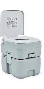 Giantex Portable Toilet 5.3 Gallon