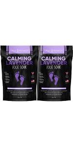 Calming Lavender Foot Soak - 2 Pack
