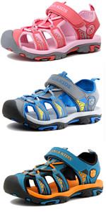 Kids Closed-Toe Sports Sandals