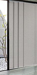 GoDear Design Adjustable Sliding Patio Door Blind, Tea Time