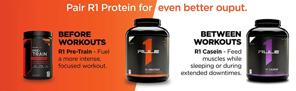 Pair R1 Protein for even better output.