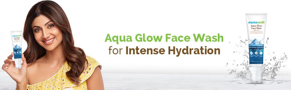 Mamaearth Aqua Glow Face Wash 100ml