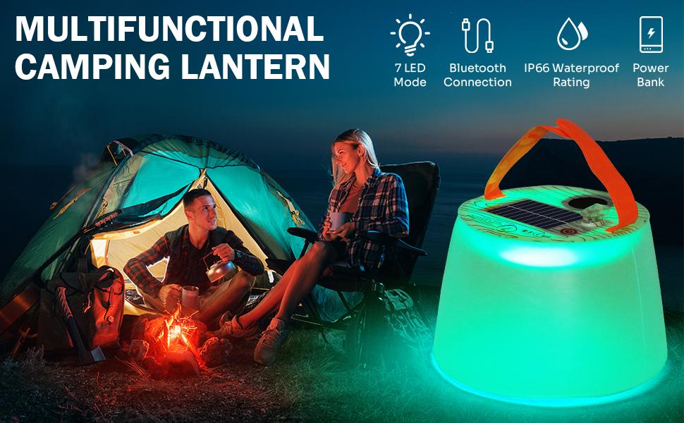 Multifunctional Camping Lantern