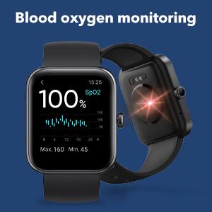 Blood oxygen monitoring