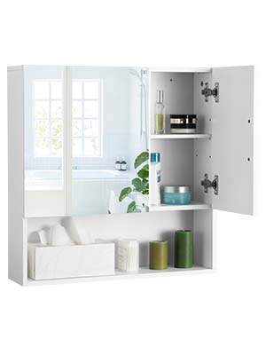 bathroom hanging cabinet