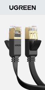 Cat 7 Plat Câble Ethernet