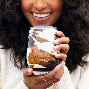 swig life insulated wine tumbler cup glass women dishwasher safe double wall vacuum sealed gift idea