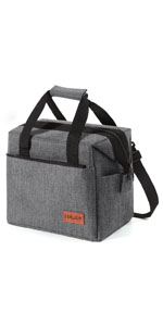 grey lunch box for men