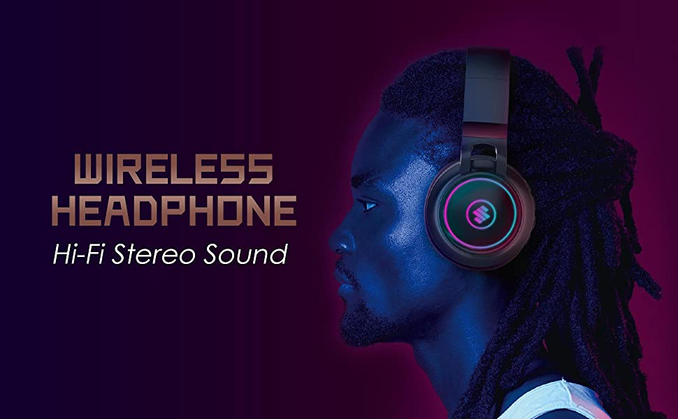 wireless headphones over ear