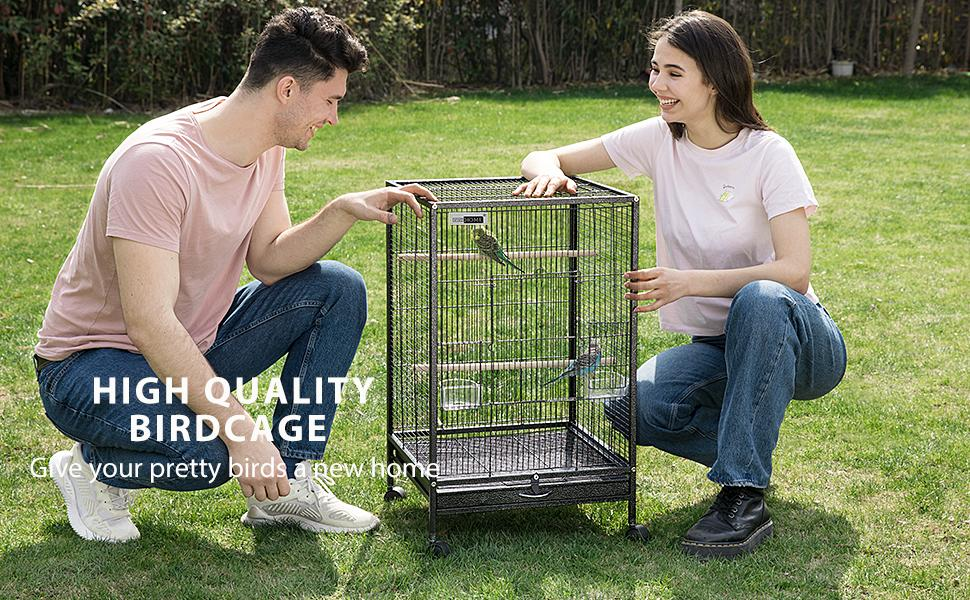 high quality bird cage 30 inch height give birds a new home
