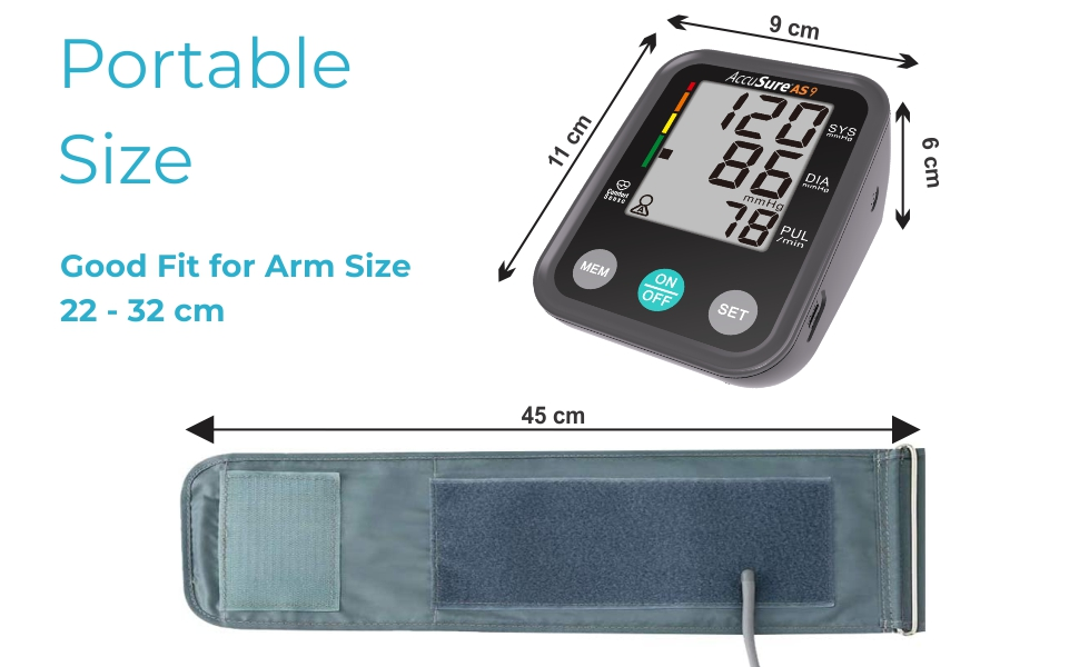 Easy to carry bp monitor