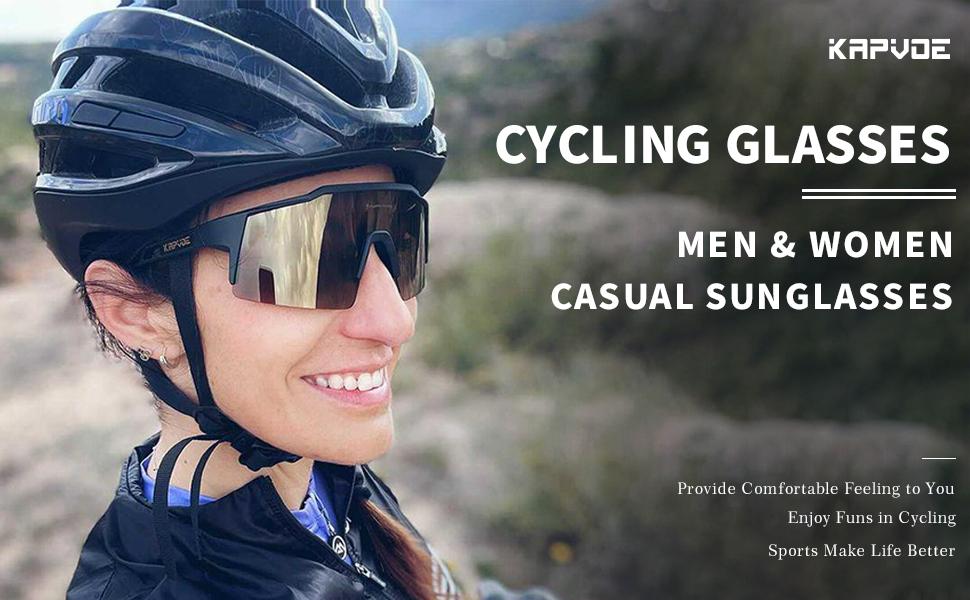 KAPVOE Men and women cycling glasses